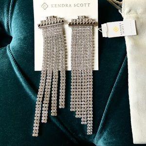 NWT Kendra Scott Olympia Statement Earrings
